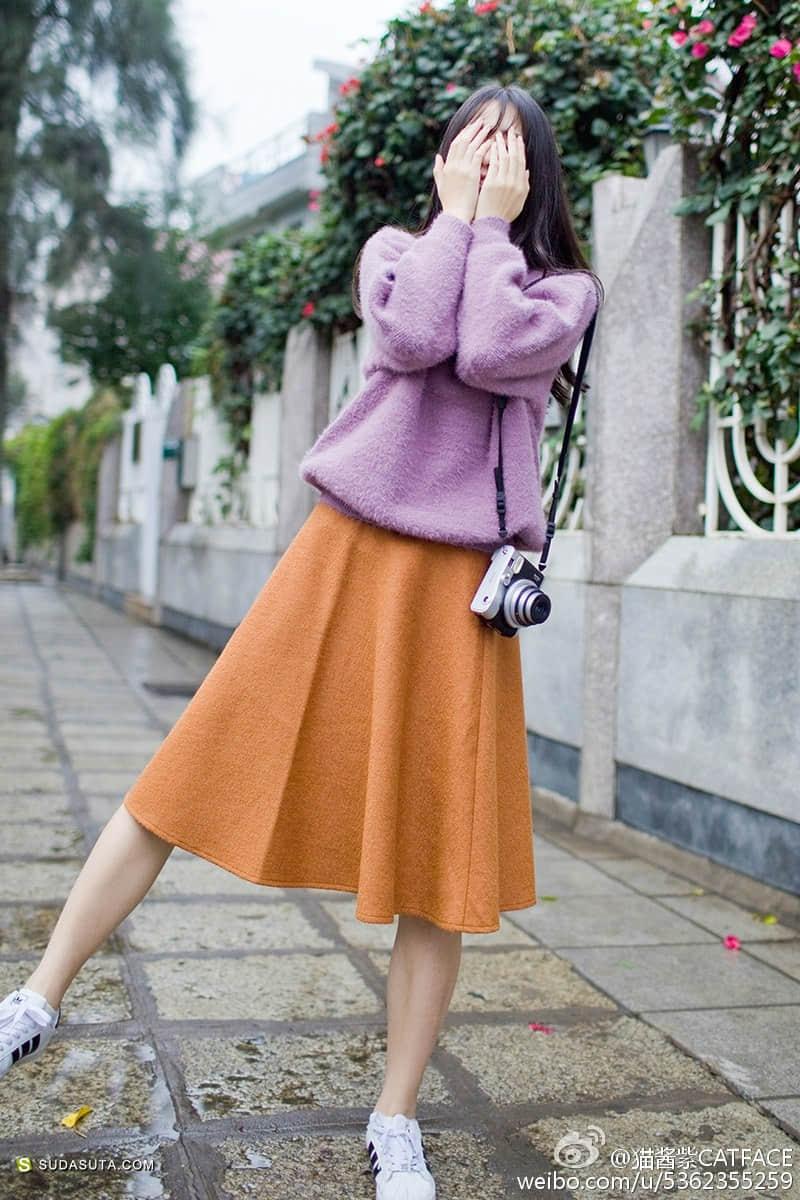 独立潮牌 猫酱紫CATFACE