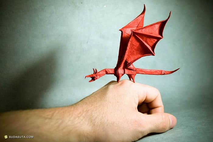 西班牙全职音乐人 Gonzalo Calvo 的折纸艺术