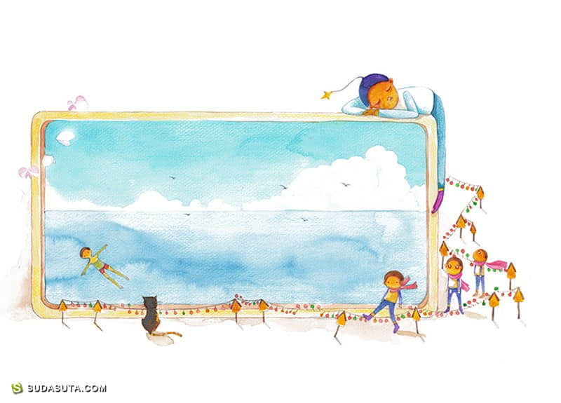 小刺猬原创绘本漫画