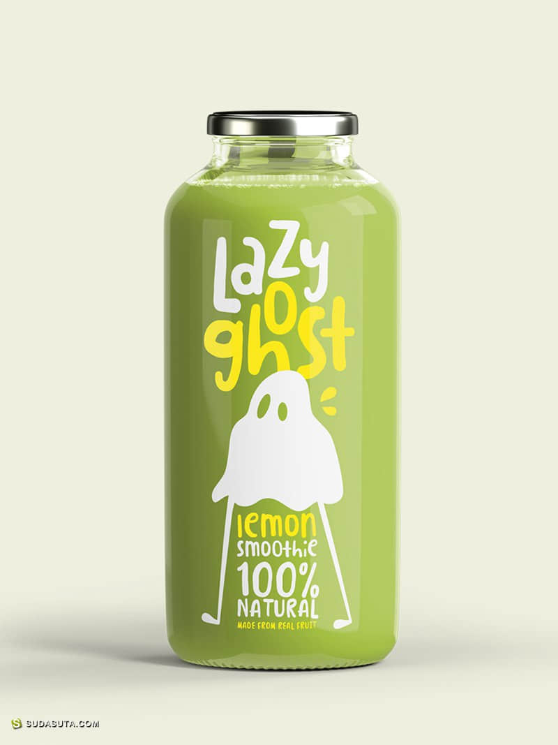 Lazy Ghost 幽默有趣的包装设计