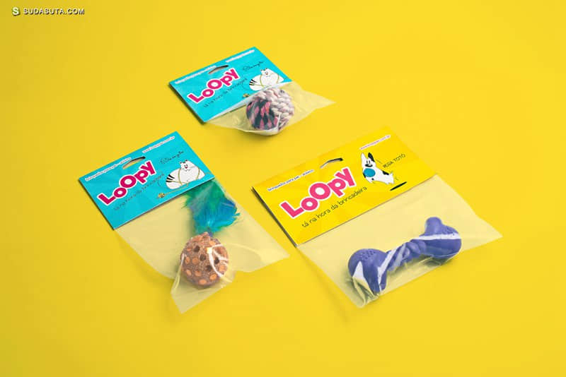 Loopy 为宠物们而做的有趣的设计