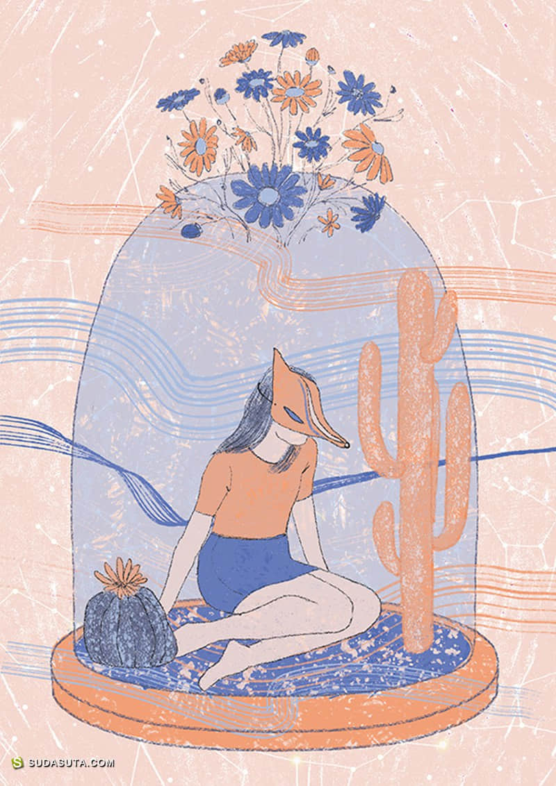 Milica Golubovic 不可思议的插画欣赏