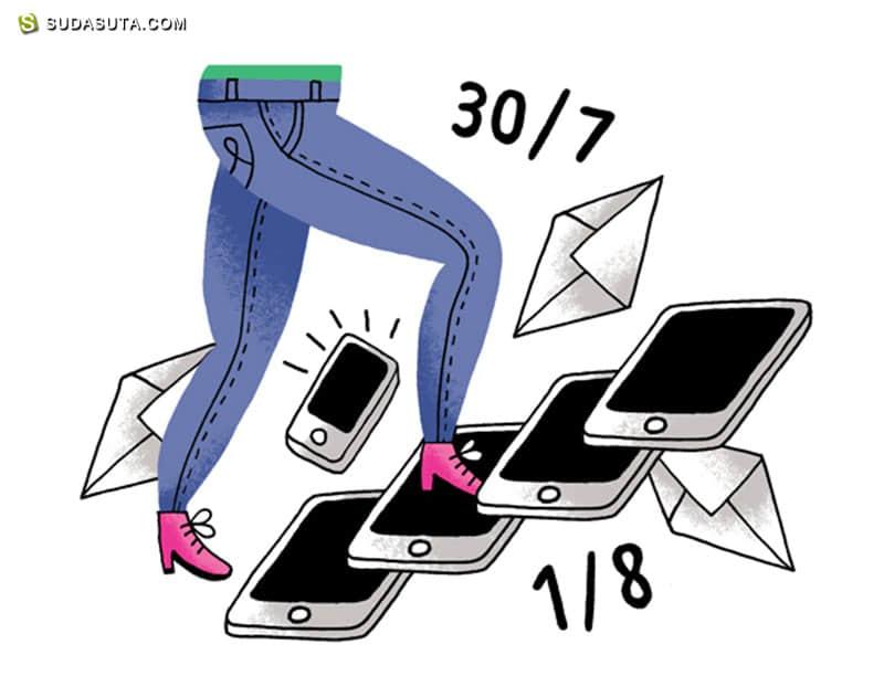 Miss Lotion 卡通插画欣赏
