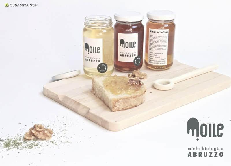 蜂蜜品牌Moile 概念设计欣赏