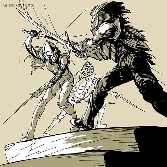 Rob Dunsmuir 卡通漫画欣赏