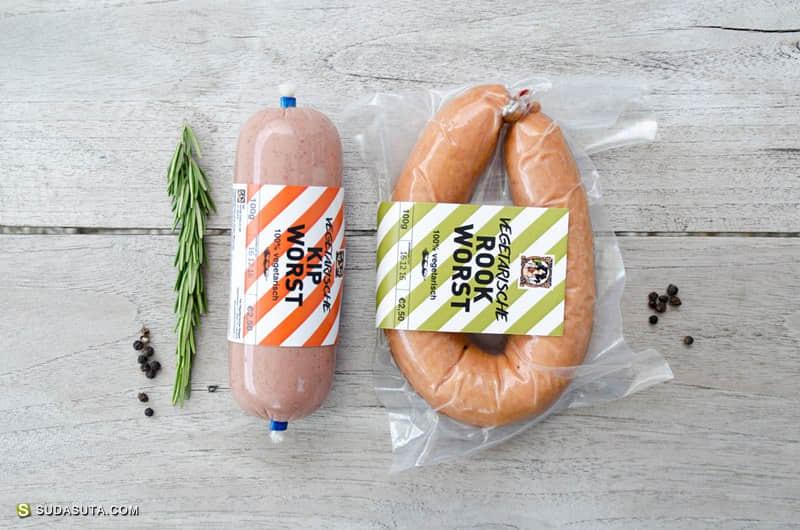 Vegetarian Butcher 概念包装设计欣赏