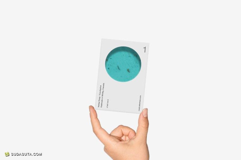 漂亮的手工皂C'est Ça 包装设计欣赏