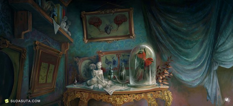 Clément Galtier 概念插画欣赏