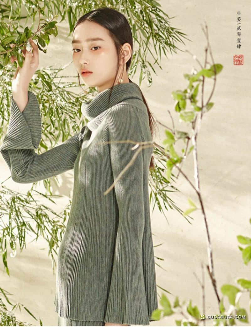 独立女装设计品牌 生姜 东方美学生活