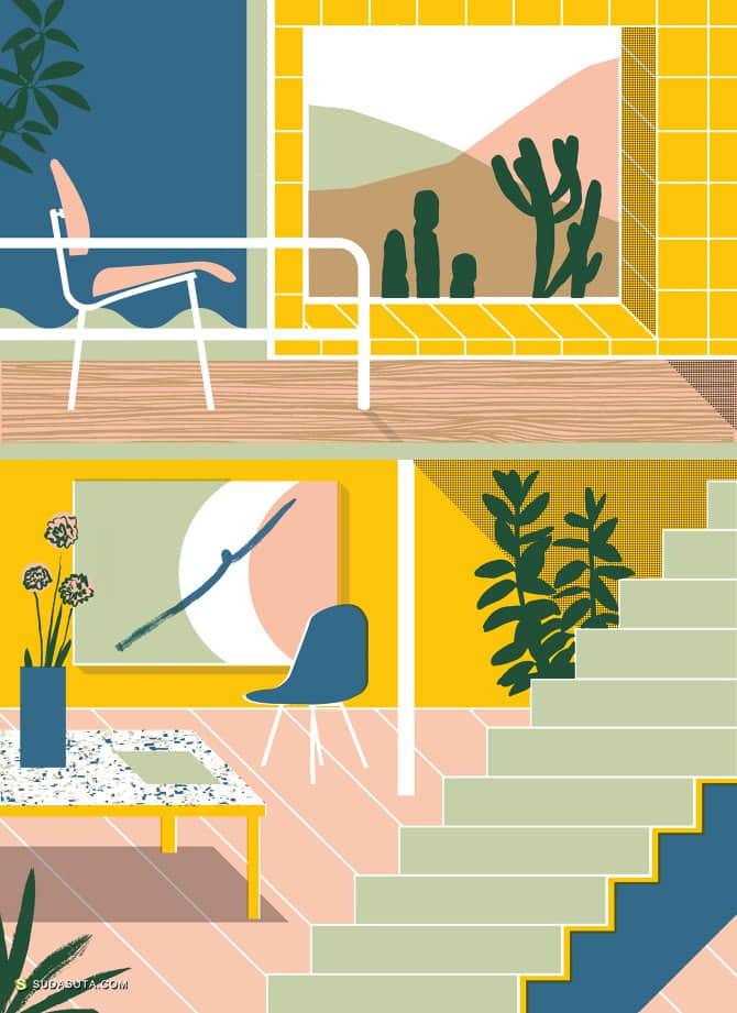 elenaboils 装饰插画欣赏