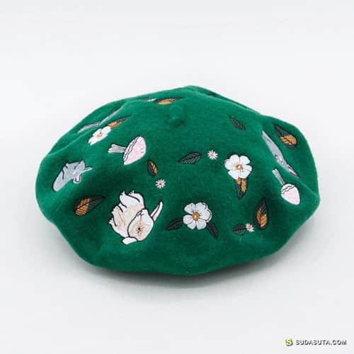 手工羊毛毡帽子 4姑娘の帽饰博物馆