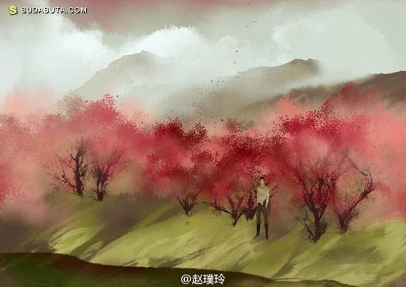 赵璞玲《三月初三》漫画CG欣赏