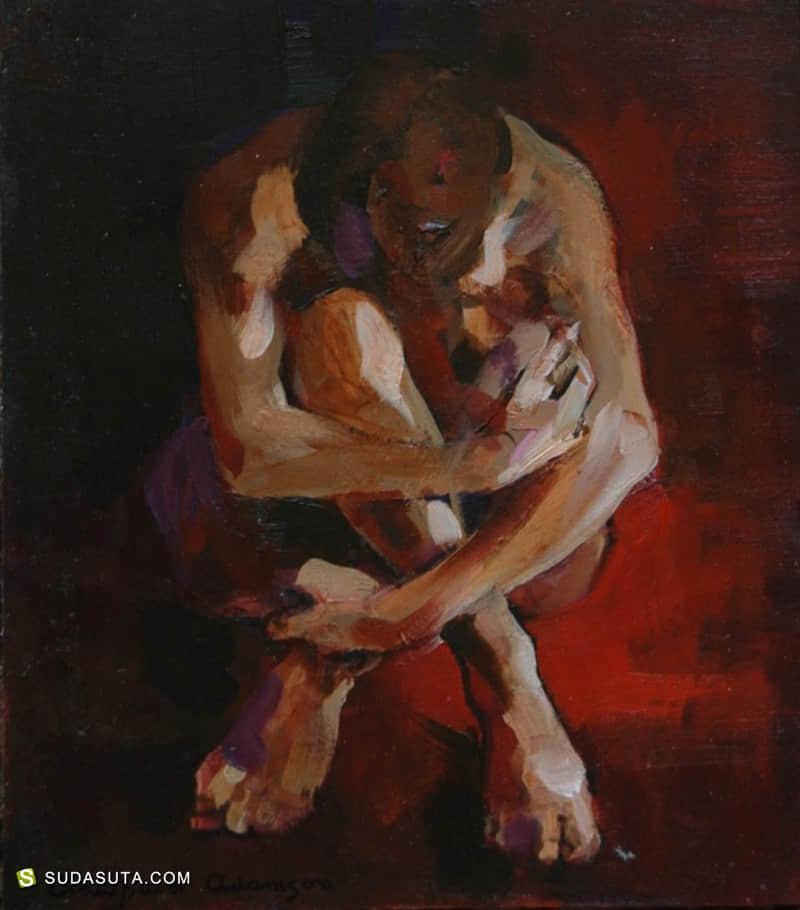 Crawfurd Adamson 油画作品欣赏