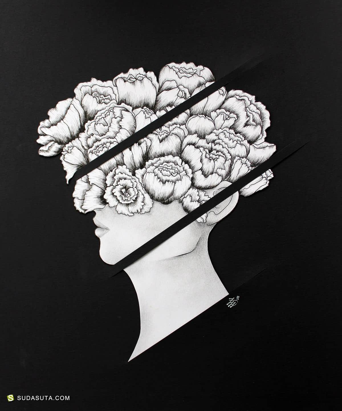 艺术家 Flory Huang 艺术绘画欣赏