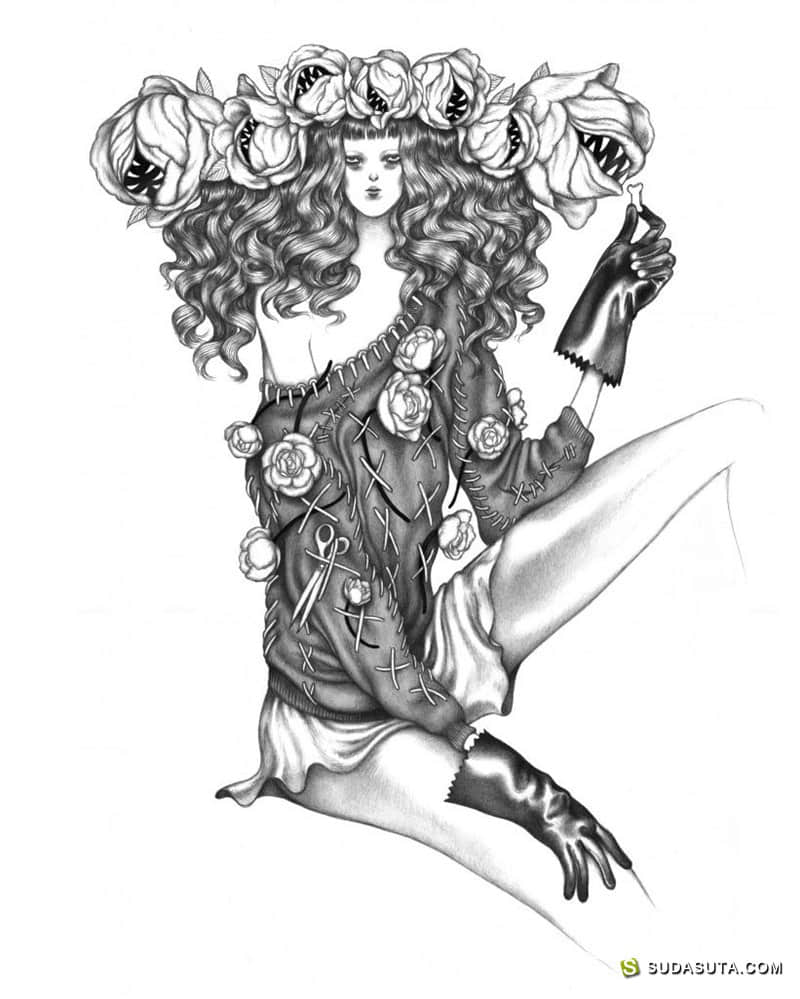 Laura Laine 时尚插画欣赏