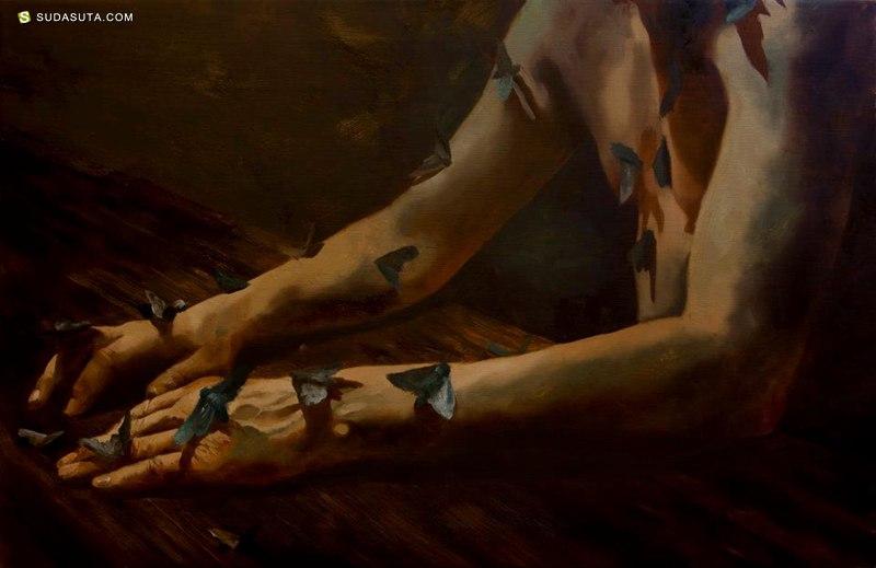 Markus Åkesson 超现实主义油画作品欣赏