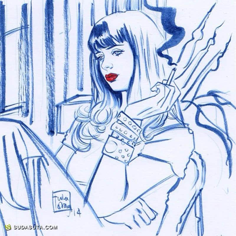 Tula Lotay 超级女英雄漫画作品欣赏