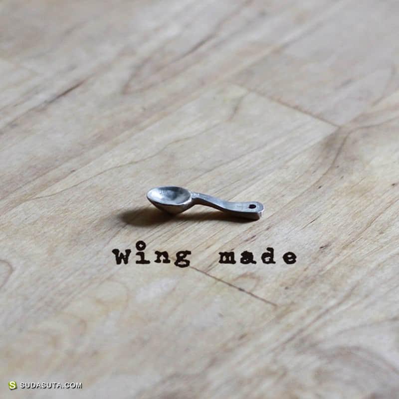 独立首饰设计作品 WING MADE