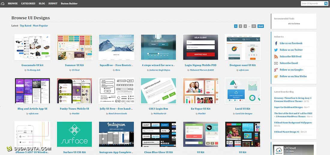 40个免费的网络设计资源网站