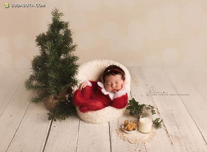 孩子们和圣诞节 儿童摄影欣赏