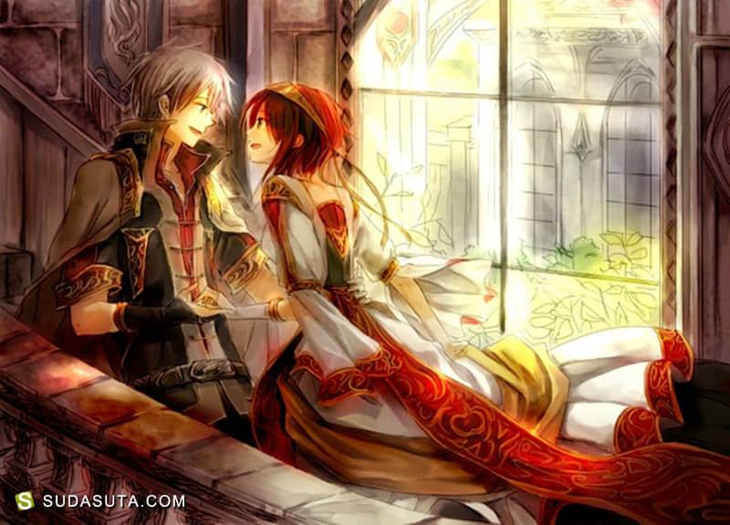 《赤发的白雪姬》同人CG欣赏