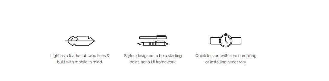 为Web开发准备的20个免费的CSS框架