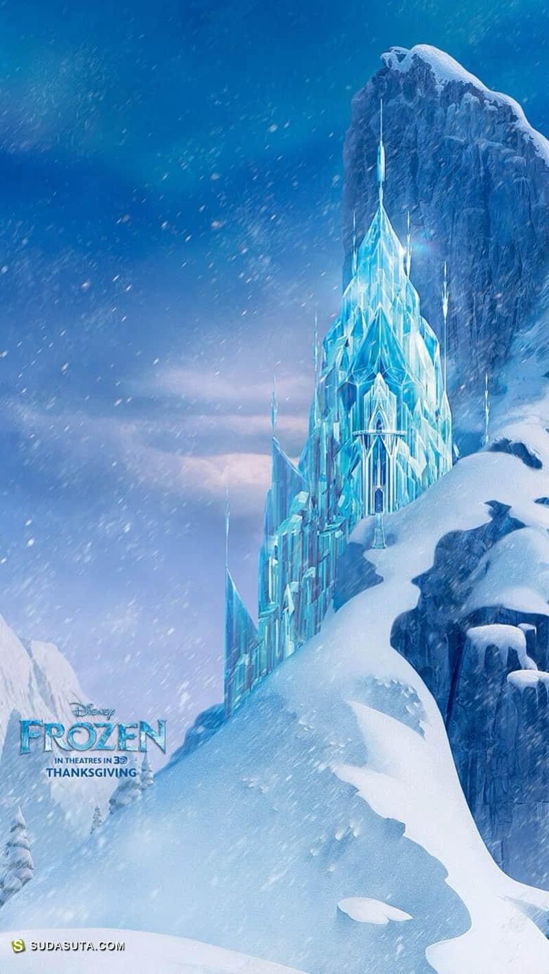 迪士尼动画电影《冰雪奇缘》同人CG