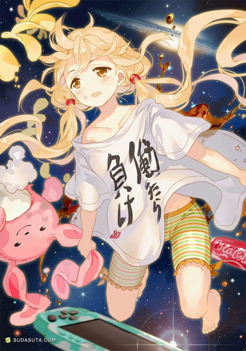 日本动画《偶像大师 灰姑娘女孩》CG作品大赏