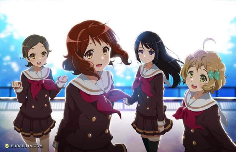 日本动画《吹响悠风号》CG作品欣赏