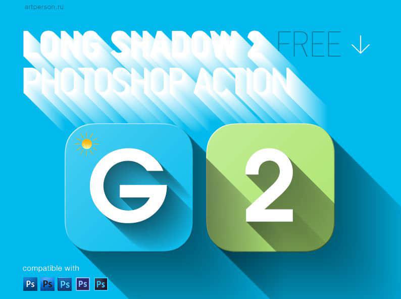 为图形/网页设计师准备的20个免费的photoshop动作