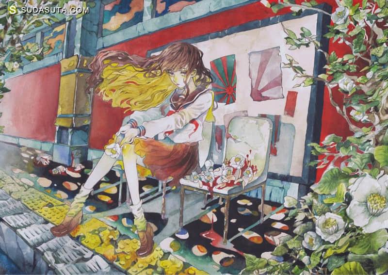 レモン(remon101121) 手绘少女漫画欣赏
