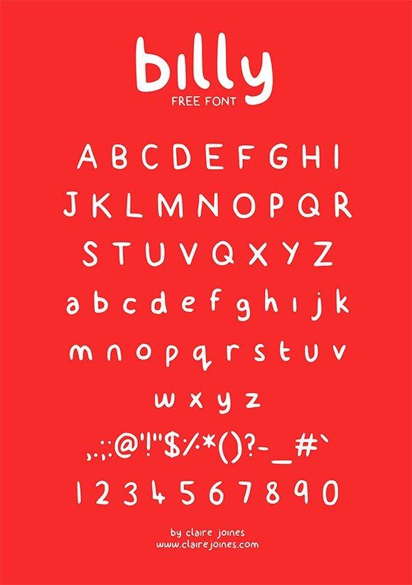 2017年20个免费的标题字体