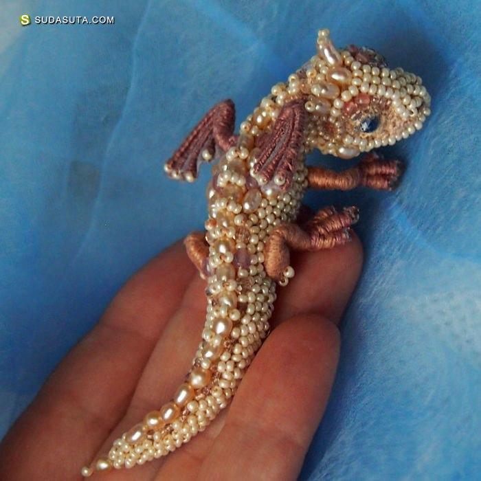 Alena Litvin 珠宝与龙 创意珠宝设计欣赏