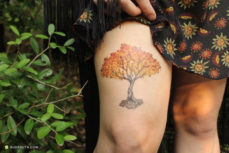 Allison Wilcoxen 纹身设计欣赏