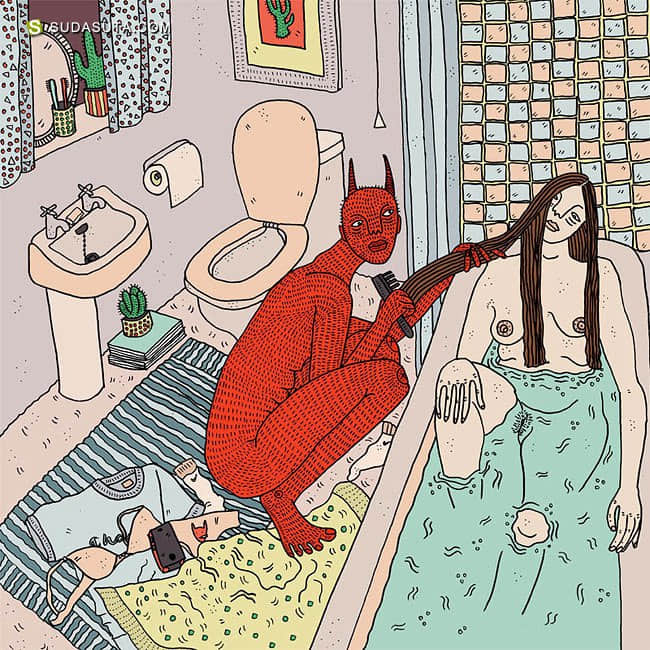 POLLY NOR 恶魔与女生 音乐动画欣赏