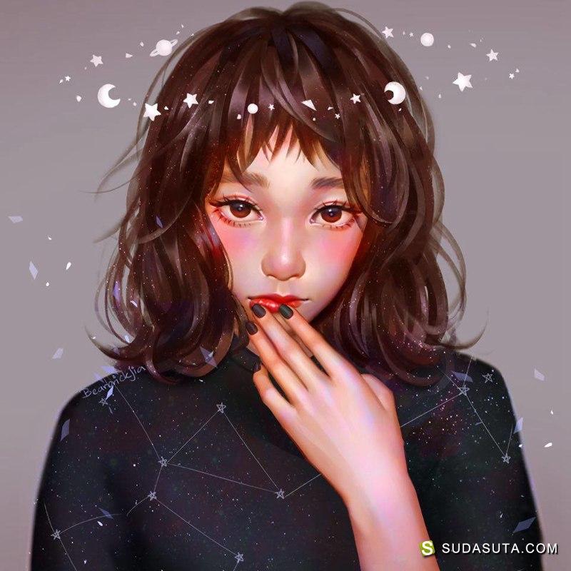Karmen Loh 同人插画欣赏