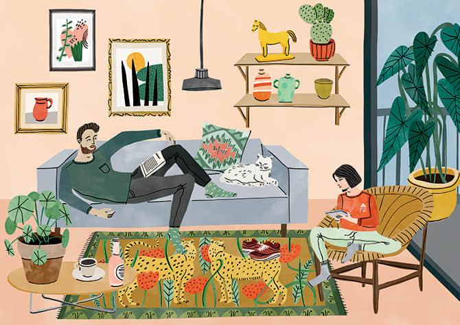 Bodil Jane 书籍插画欣赏