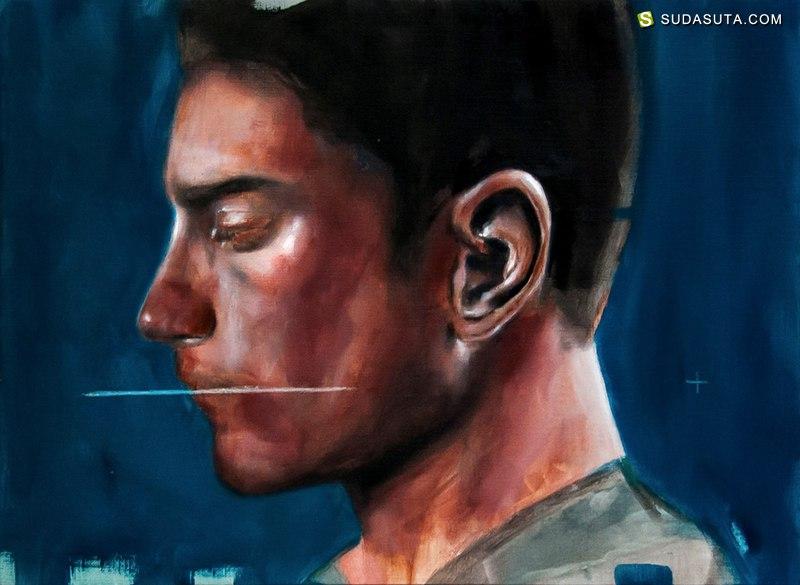 Davide Cambria 抽象肖像艺术欣赏
