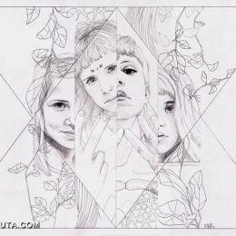 Florencia Mir 手绘铅笔时尚插画