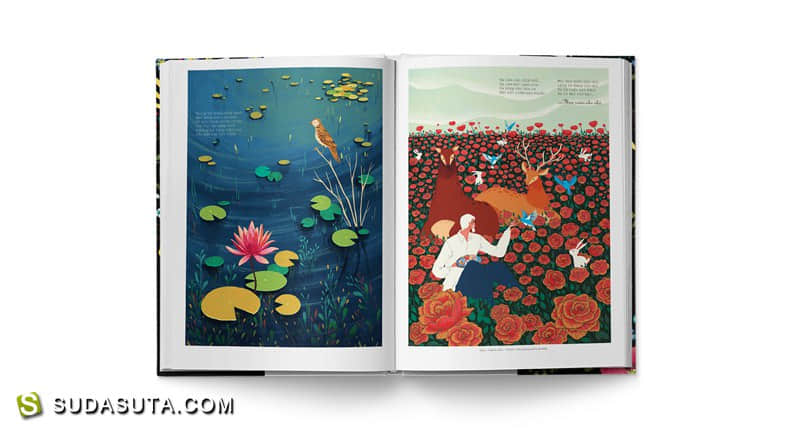 Huynh Kim Lien 和 Phung Nguyen Quang  书籍插画欣赏
