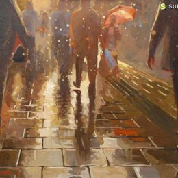 Johnny Morant 唯美浪漫的城市绘画艺术欣赏