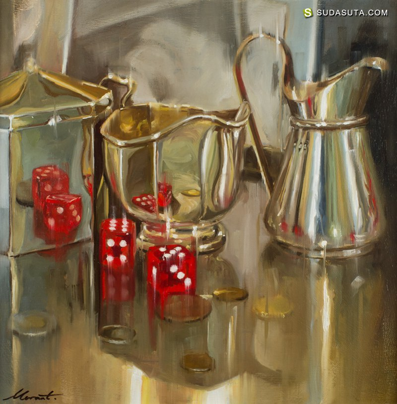 Johnny Morant 与光对话 绘画艺术欣赏