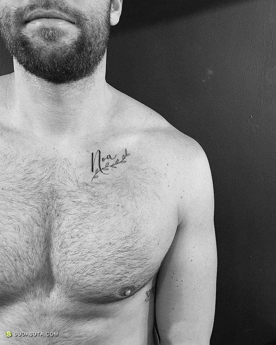 Jonathan Valena 细小迷你的纹身图案设计