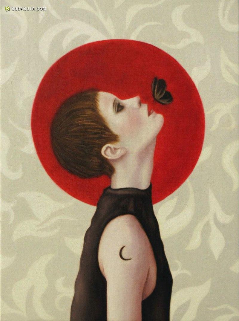 Judith Vergara García 诡异的超现实主义女生绘画