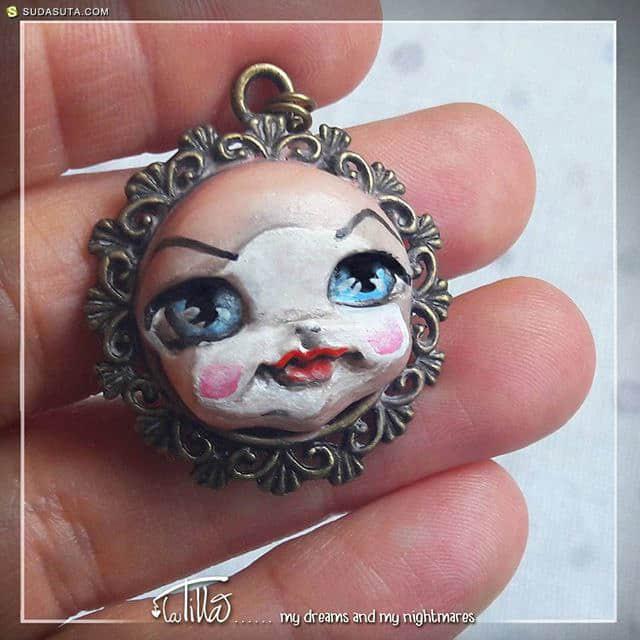 LaTilla 的带着魔法的手工娃娃