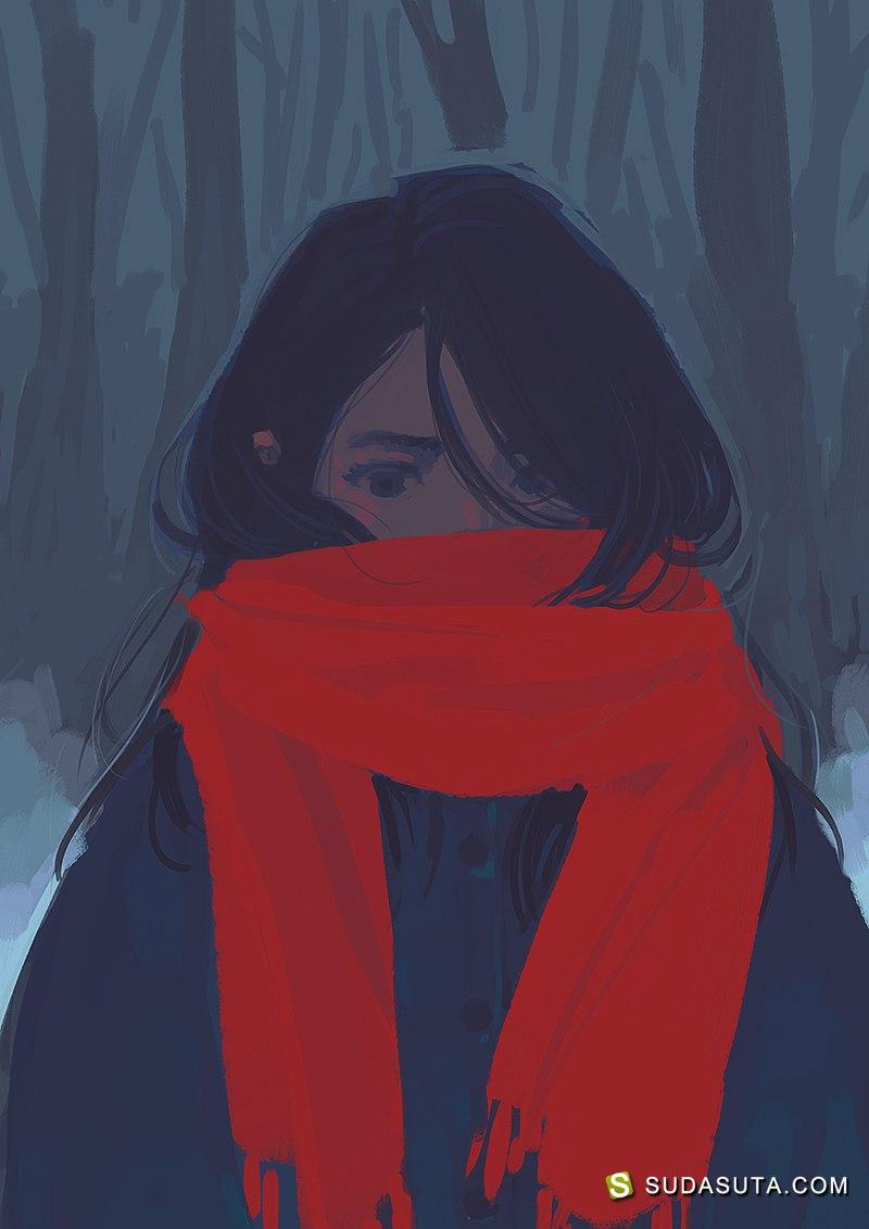 Lia Marin 同人插画作品欣赏