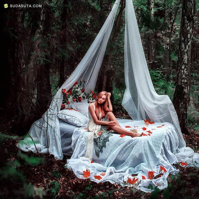 Maria Lipina 超现实主义魔幻摄影欣赏