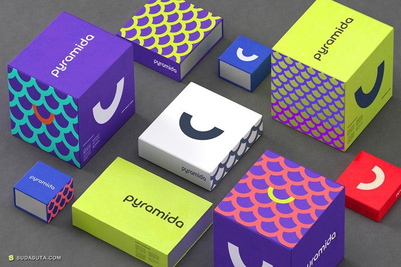 Pyramida 品牌设计欣赏