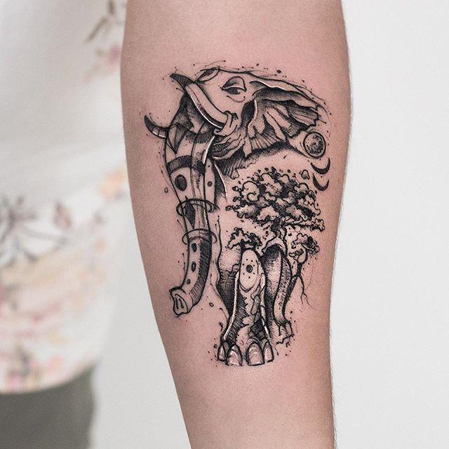 Robson Carvalho 纹身设计欣赏