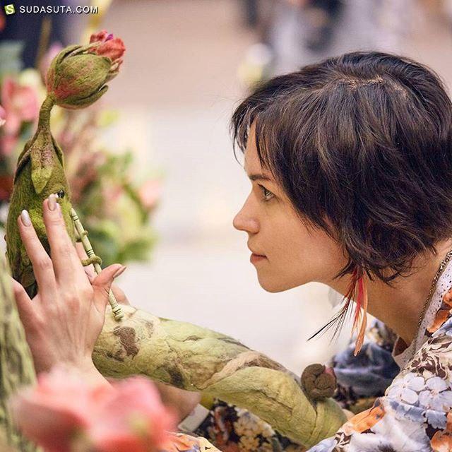 Sasha Lelilio 的绿色植物魔法 玩具设计欣赏